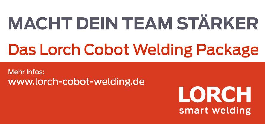 Das LORCH Cobot Welding Package – perfekt ausgerüstet für Stahl und Edelstahl HIer bei uns.